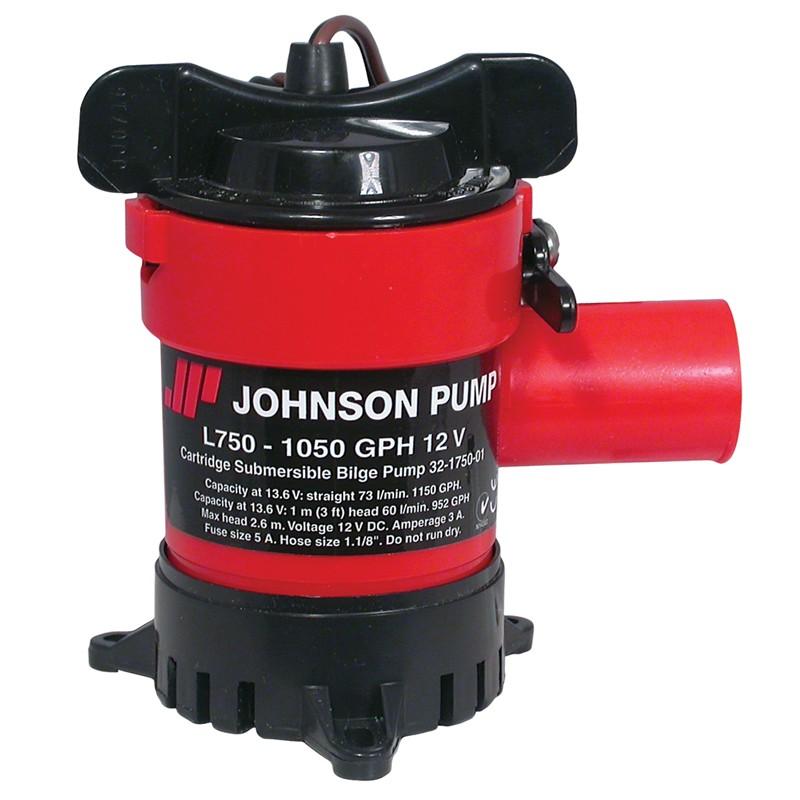 johnson pump l750 12v submersible bilge pump 1050gph. Black Bedroom Furniture Sets. Home Design Ideas