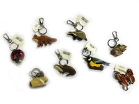 Wildlife Key Rings