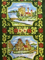 Tea Towel - Roses & Castles